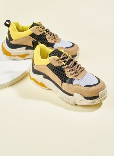 Bambi Sneakers Sarı